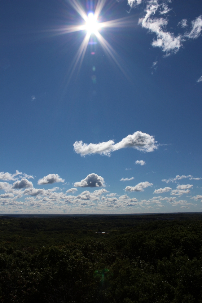 Sky over Lapham Peak