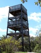 Lapham Peak observation tower