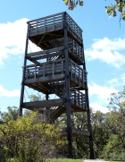 Lapham Peak observation tower