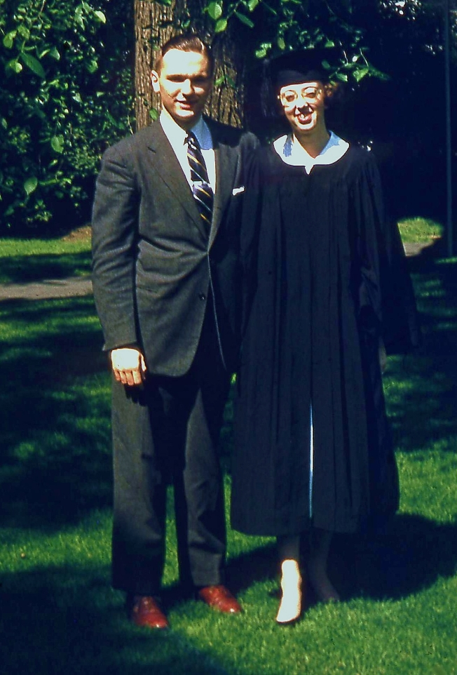 Graduation, Radcliffe Class of 1955