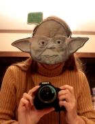 yoda selfie