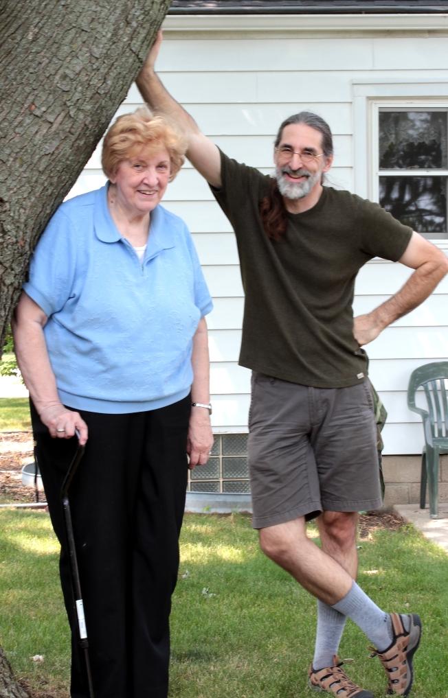 Steve & Mom