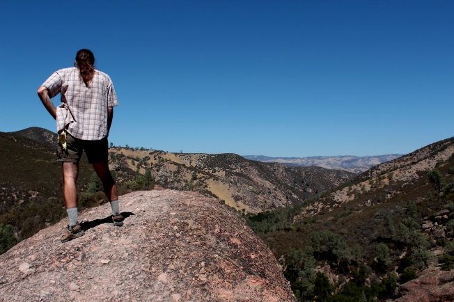 pinnacles summit