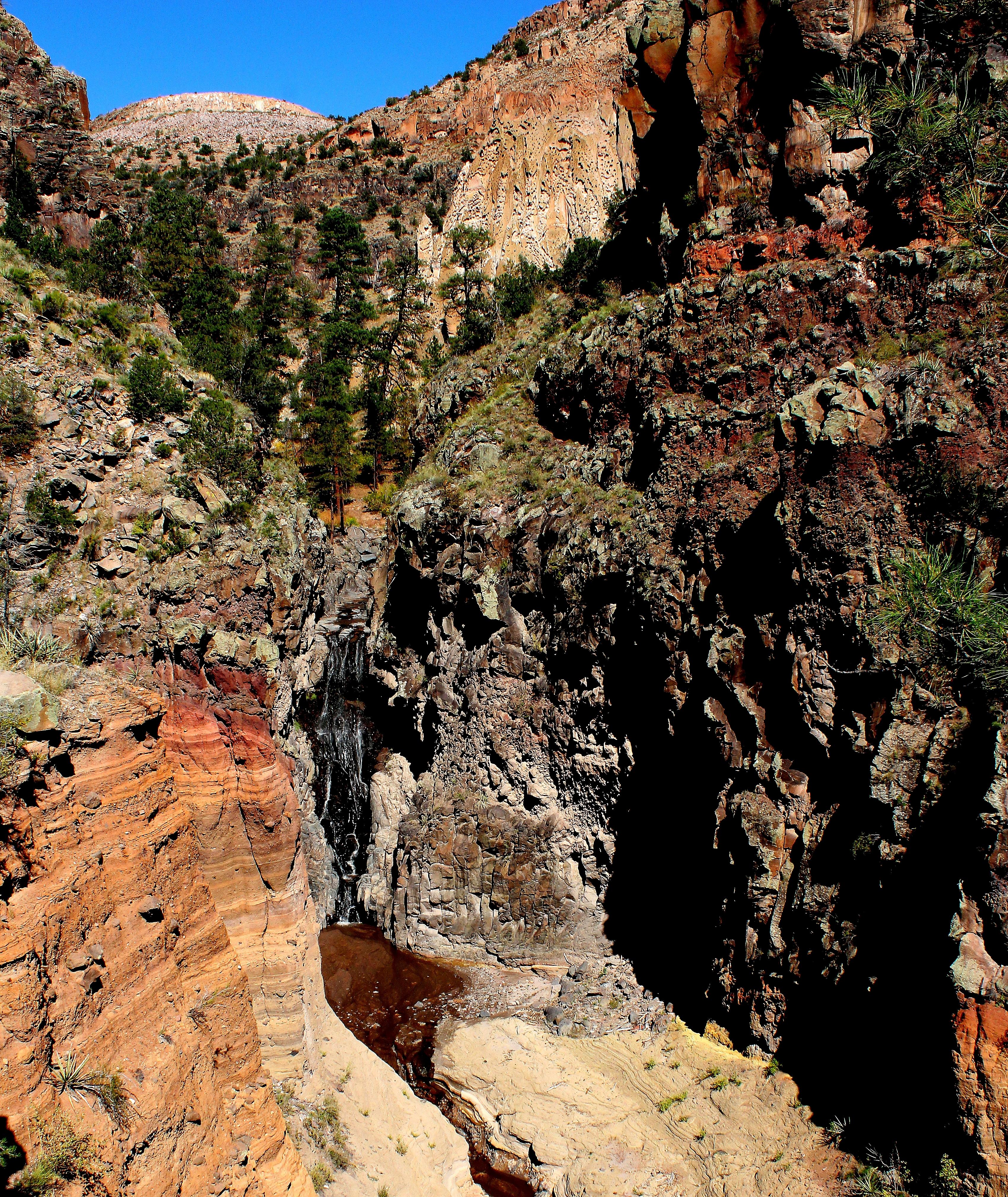 Upper Falls at Bandelier