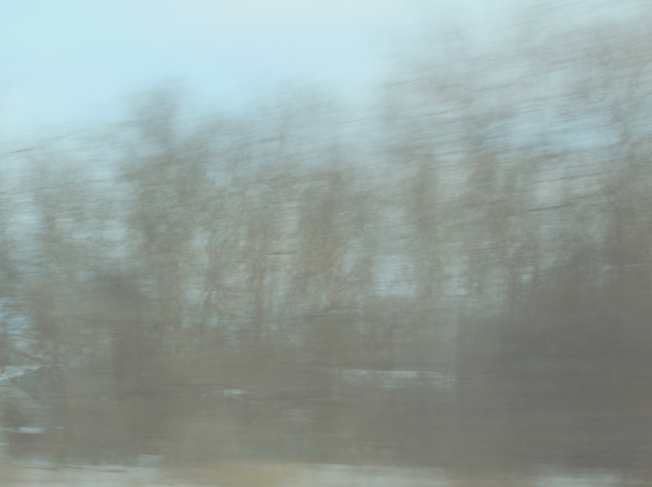 winter blur