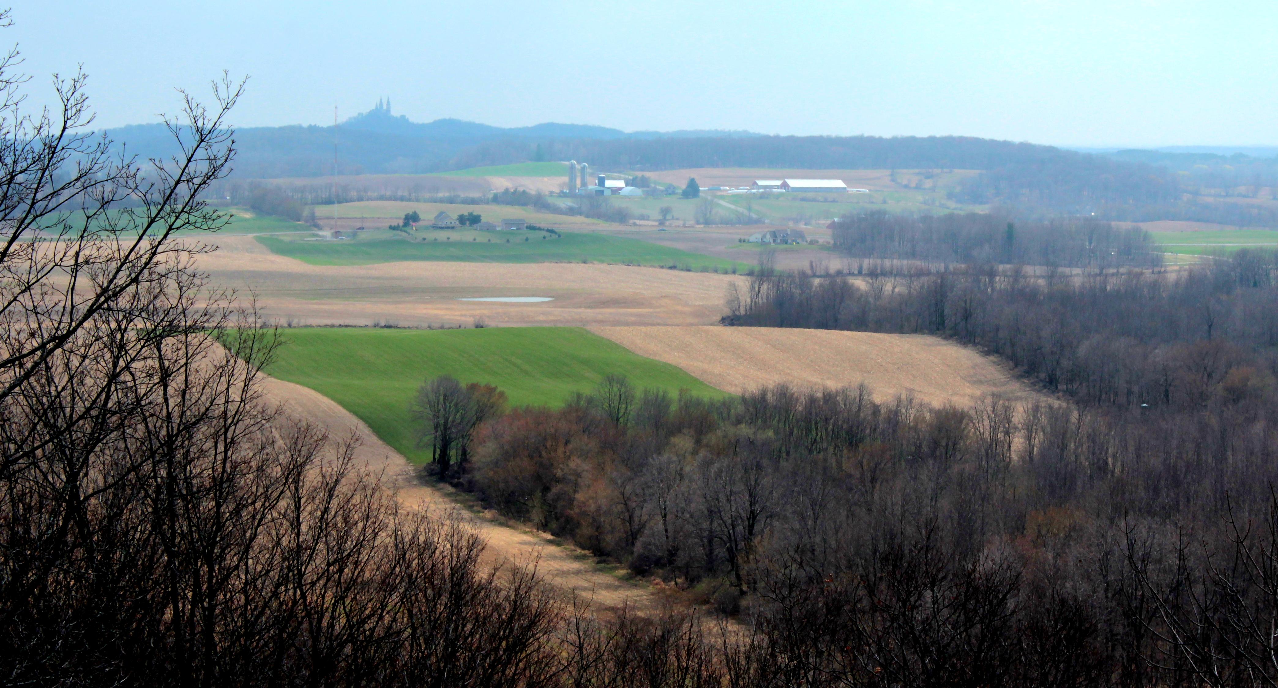 farm and wood