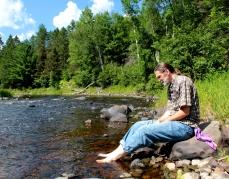 steve sturgeon river feet