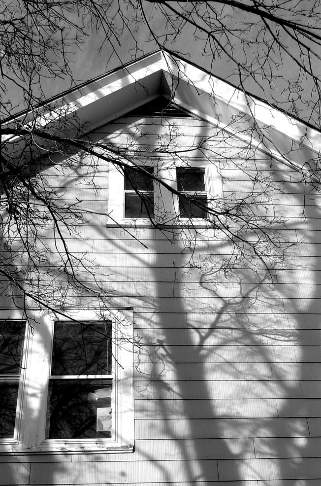 outside the frame