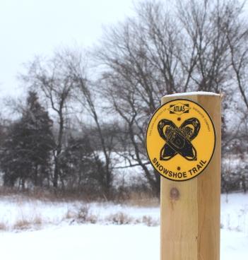 snowshoe-trail