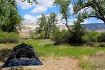 green river campsite