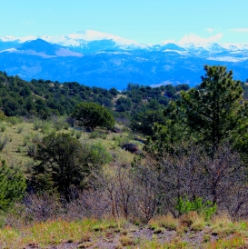 Pike's Peak and Mt. Pisgah