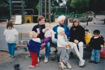 Galasso visit 1992