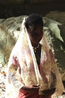 Lace veil 1