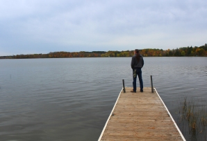 lake emily pier