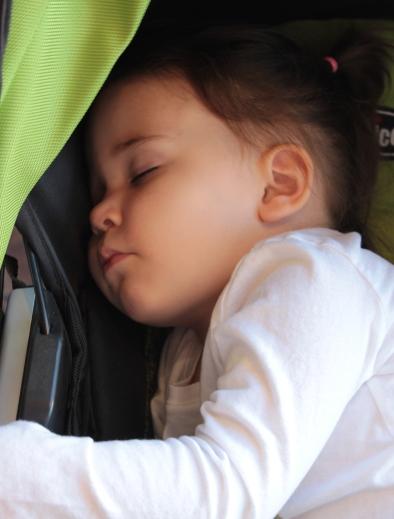 tired toddler
