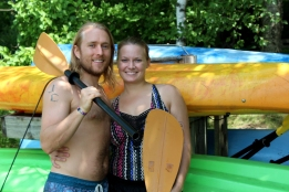 becca and jake kayak