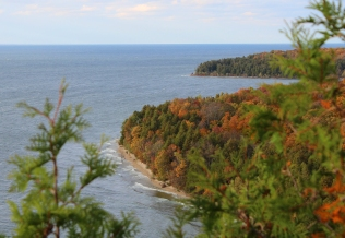autumn peninsula