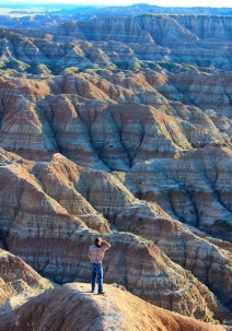 Sage Creek Wilderness, Badlands National Park, South Dakota
