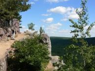 Devil's Lake rim